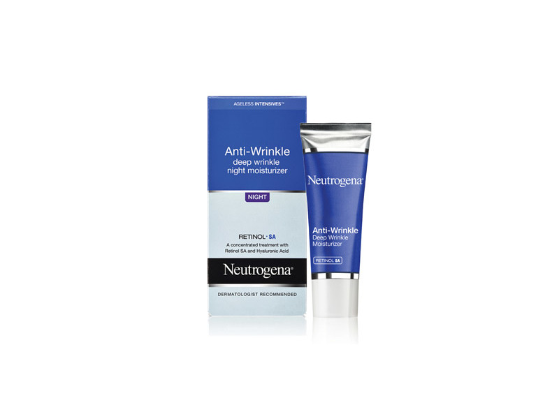 Neutrogena Ageless Intensives Anti-wrinkle Deep Wrinkle Night Moisturizer, Johnson & Johnson