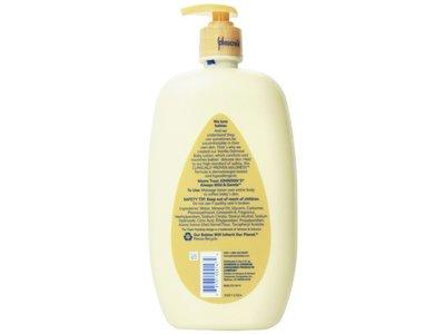 Johnson S Baby Lotion Vanilla Oatmeal 27 Oz Ingredients