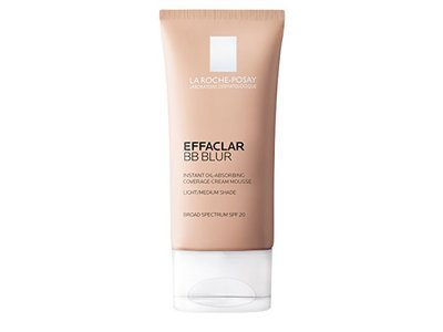 La Roche-Posay Effaclar BB Blur Instant Oil-Absorbing Coverage BB Cream, Medium, 1.01 fl. oz.