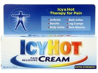 Icy Hot Pain Relieving Cream, Extra Strength, 3-Ounce - Image 2