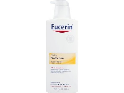Eucerin Everyday Protection Body Lotion with SPF 15 - 16.9 oz - Image 1