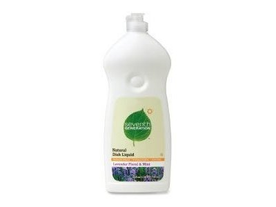 Seventh Generation Natural Dish Liquid, Lavender Floral & Mint, 25 oz. ( Multi-Pack)