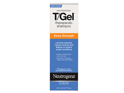 Neutrogena T/gel Therapeutic Shampoo - Extra Strength, Johnson & Johnson - Image 1