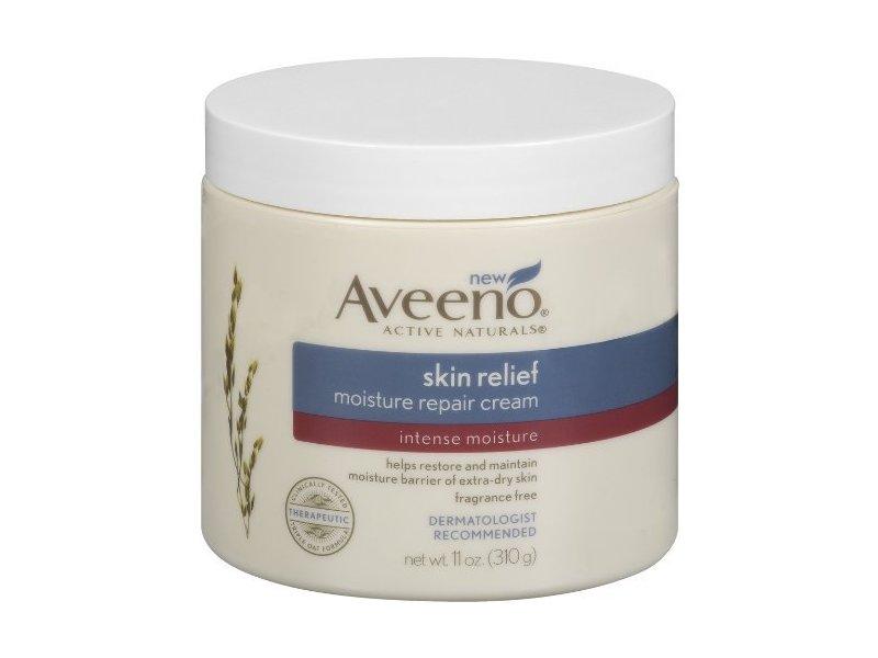 Aveeno Skin Relief Moisturizing Cream, 11 Ounce ...