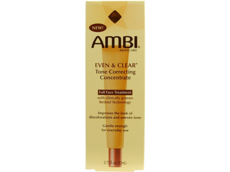Ambi Even & Clear Tone Correcting Concentrate, johnson & johnson